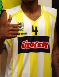 Fenerbahçe 2008 -09 away jersey