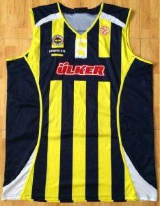 Fenerbahçe 2008 -09 Home jersey