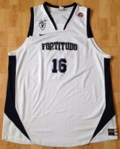 Fortitudo Bologna 2008 -09 Home jersey