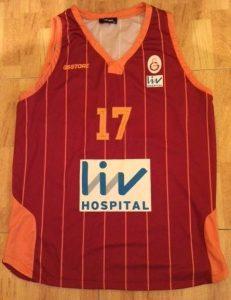 Galatasaray 2014 – 2015 away jersey