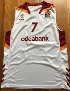 Galatasaray 2016 -17 white jersey