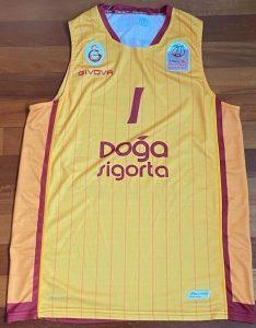 Galatasaray 2019 -20 alternate yellow jersey