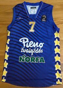 Pieno žvaigždės 2015 -16 away jersey