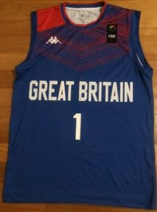 Great Britain 2017-18 away jersey