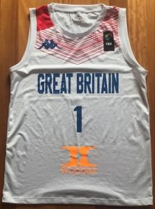 Great Britain 2017 -18 Home kit