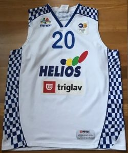 Helios Suns 2009 -10 Home jersey