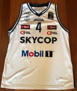 Prienai 2018 -19 away jersey