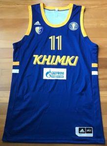 Khimki 2018 -19 away jersey