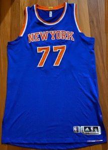 New York Knicks 2013 -14 road jersey