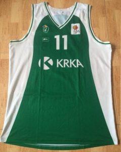 Krka 2014 -15 away jersey
