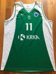 Krka Novo Mesto 2015 -16 away jersey