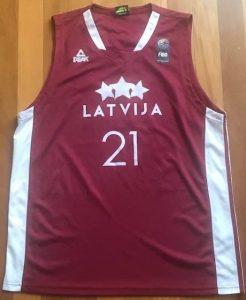 Latvia2016 -17 away jersey