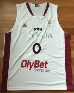 Latvia 2016 -17 Home kit