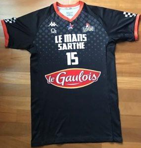 Le Mans Sarthe 2018 -19 alternate short sleeve black jersey