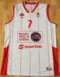 Radnicki Kragujevac 2013 -14 Home jersey