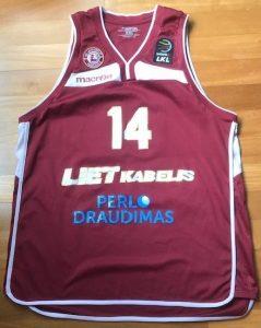 Lietkabelis 2017 -18 Home jersey