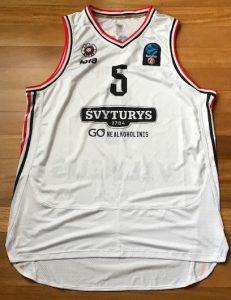Rytas Vilnius 2018 -19 away jersey