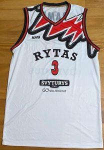 Rytas Vilnius 2018 -19 alternate white kit