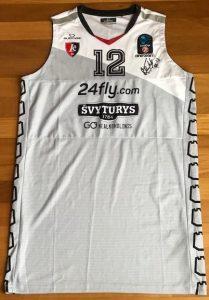 Lietuvos rytas 2017 -18 away jersey