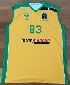 Limoges 2017-18 yellow jersey