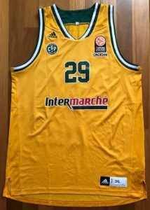 Limoges 2015 -16 yellow jersey