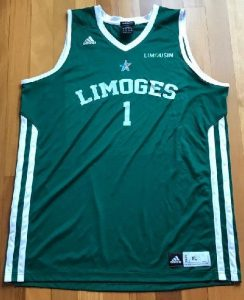 Limoges 2014 -15 away jersey