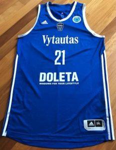 Vytautas Prienai 2016 -17 Home kit