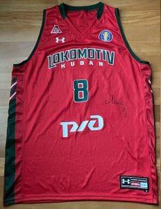 Lokomotiv Kuban 2018 -19 Home jersey
