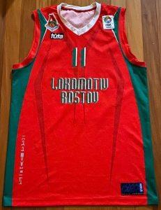 Lokomotiv Kuban 2007 -08 Home jersey