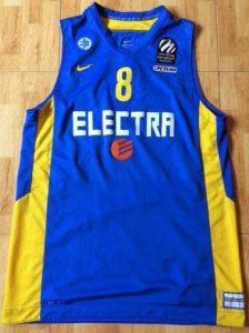 Maccabi Tel Aviv 2013 -14 away jersey