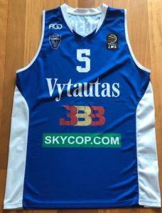 Vytautas Prienai 2017 – 18 Home kit