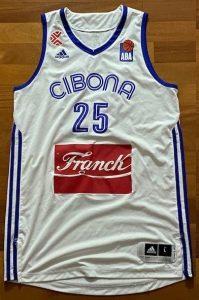 KK Cibona Zagreb Unknown Home kit