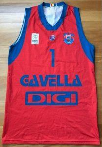 CSM U Oradea 2016 -17 away jersey