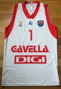 CSM U Oradea 2016 -17 Home jersey