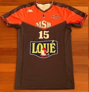 Le Mans Sarthe 2015 -16 alternate short sleeve jersey