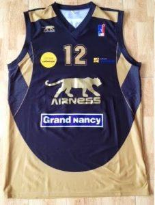 SLUC Nancy 2010 -11 away jersey