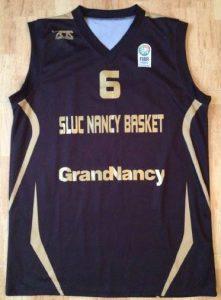 SLUC Nancy 2012 -13 away jersey