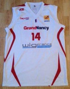 SLUC Nancy 2012 -13 Home jersey
