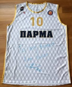 Parma Basket 2016 -17 away jersey