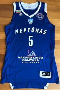 Neptūnas 2017 -18 Home away jersey