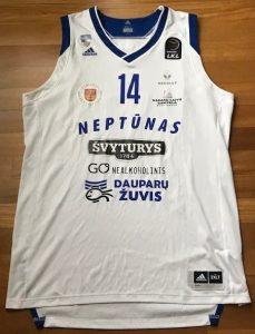 Neptūnas Klaipeda 2017 -18 Home kit