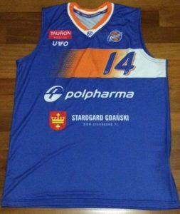 Starogard Gdański 2015 -16 away jersey