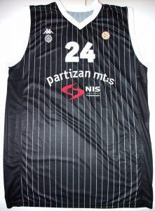 Partizan Belgrade 2011 -12 away jersey