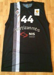 Partizan Belgrade 2012 -13 away jersey