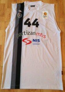 Partizan Belgrade 2012 -13 Home jersey