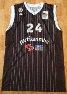 Partizan Belgrade 2010 -11 away jersey