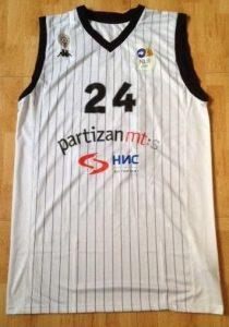 Partizan Belgrade 2010 -11 Home jersey