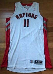 Toronto Raptors 2012 -13 Home jersey