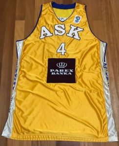 ASK Riga 2007 -08 Home jersey