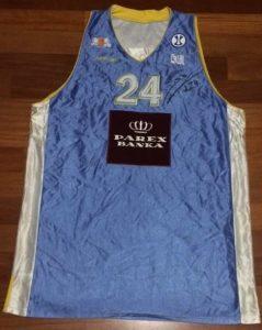 ASK Riga 2007 -08 away jersey